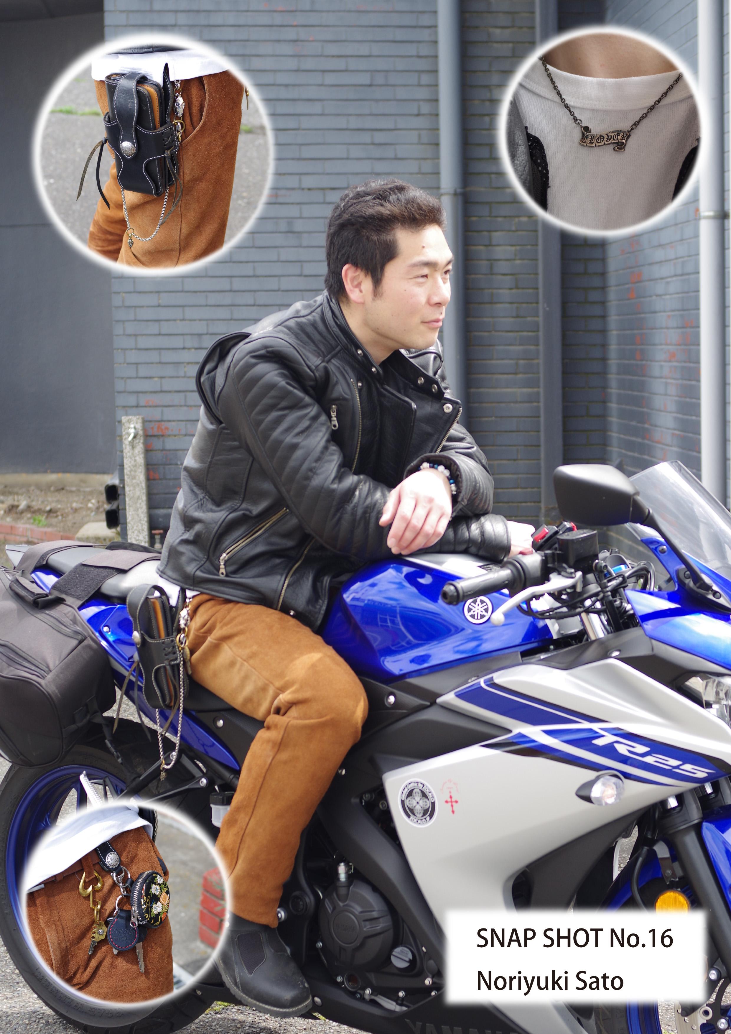 SNAP16 Noriyuki Sato