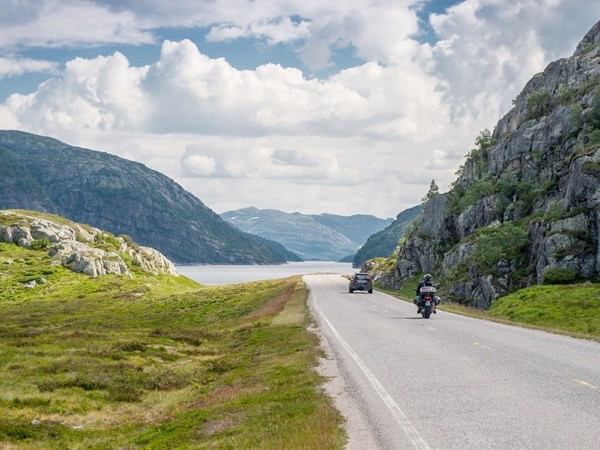 Motorbiker welcome