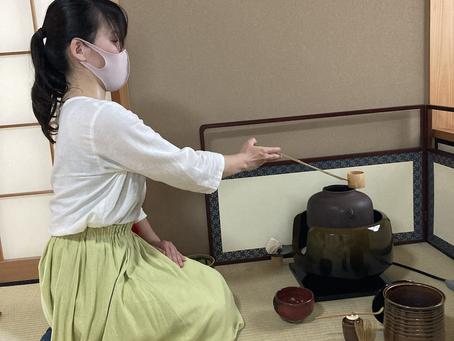 春日井市 茶道教室 お濃茶が始まりました
