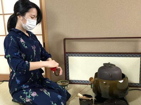 春日井市 茶道教室 風炉のお稽古