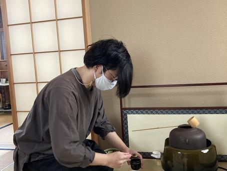 春日井市 茶道教室 いつも頑張ってます