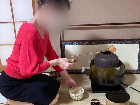春日井市 茶道教室 仕事もお茶も頑張ってます