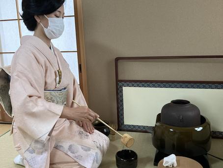 春日井市 茶道教室 唐物のお稽古