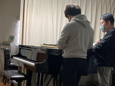 春日井市 茶道教室 ピアノ試演会