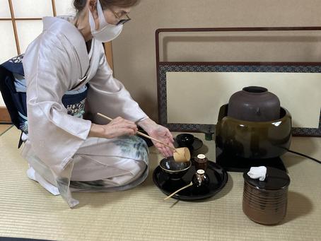 春日井市 茶道教室 大円草のお稽古