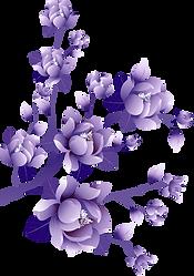Painted_Transparent_Large_Purple_Flower_