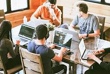 Team work, work colleagues, working toge