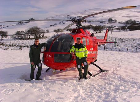 Raising Money for Midlands Air Ambulance