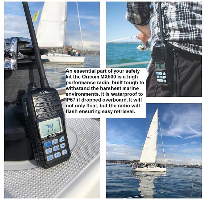 Oricom VHF Marine Radio | Tek Trek, tough products for harsh