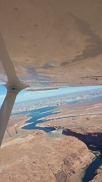 View looking east of Lake Powell