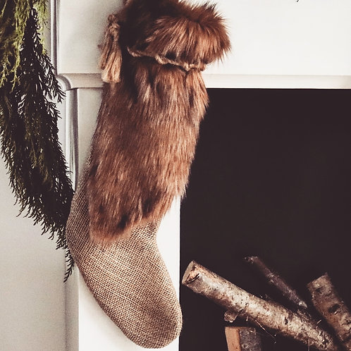 Redwood Luxury Christmas Stocking