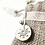 Thumbnail: Luxury Handmade Cream Noel faux fur/Hessian Mini Gift Sack