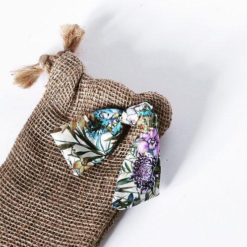 Lilac Cottage Hessian Mini Gift Bag (Money / Vouchers)