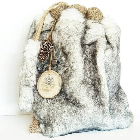 Snow Luxury Gift Sack