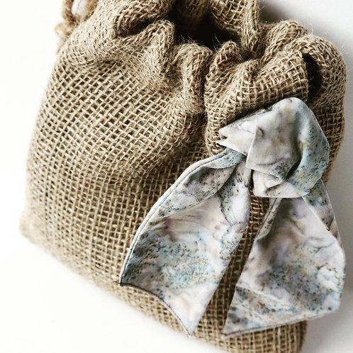 Blue Batik Gift Bag
