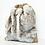 Thumbnail: Snow Faux Fur Hessian Luxury Gift Sack