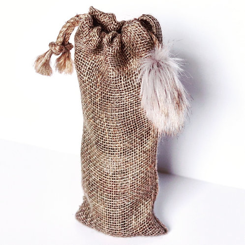 Golden Brown Bottle Gift Bag