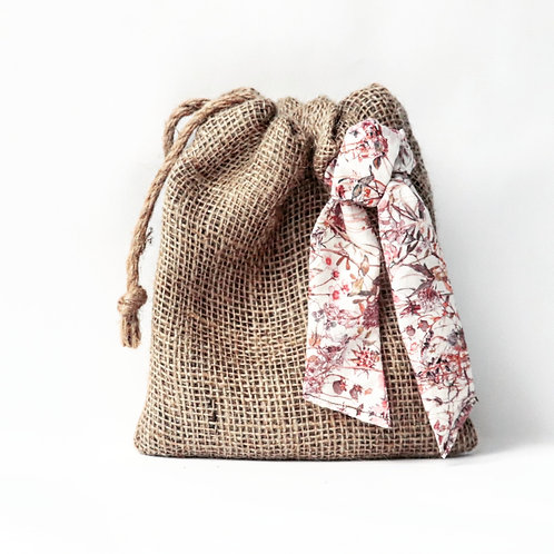 Pink garden Gift Bag