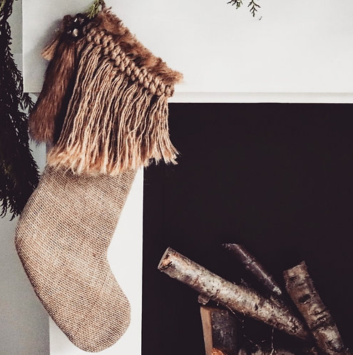 Redwood Wild Christmas Stocking - Large