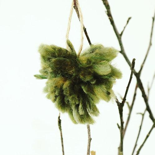Wild Green Tree Decoration - Small