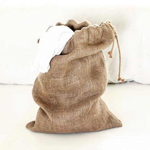 Hessian Laundry Sack 2