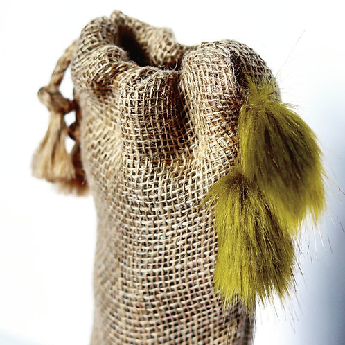 Moss Lime Drops Bottle Gift Bag