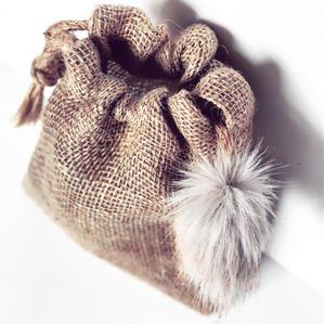 Golden Brown Mini Gift Bag