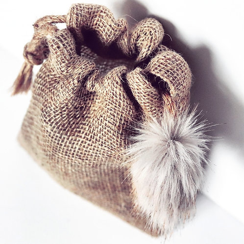 Golden Brown Mini Gift Sack