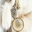 Thumbnail: Luxury Cream Brown Tip Faux Fur Hessian Sack