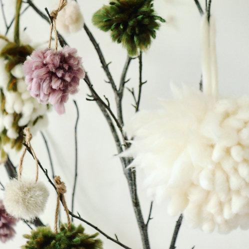Wild Snow Tree Decoration