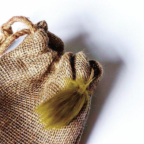 Moss Lime Drop Mini Gift Sack
