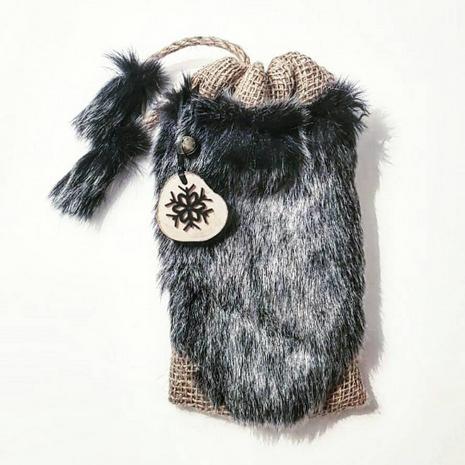 Black Snow Mini Gift Sack