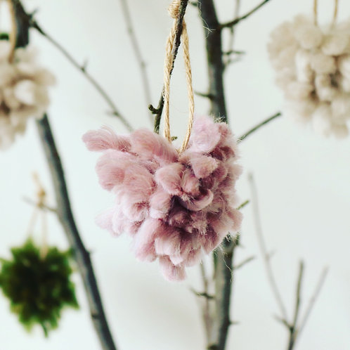 Little Bloomers Tree Decor - Set of 4 Lilac Pink