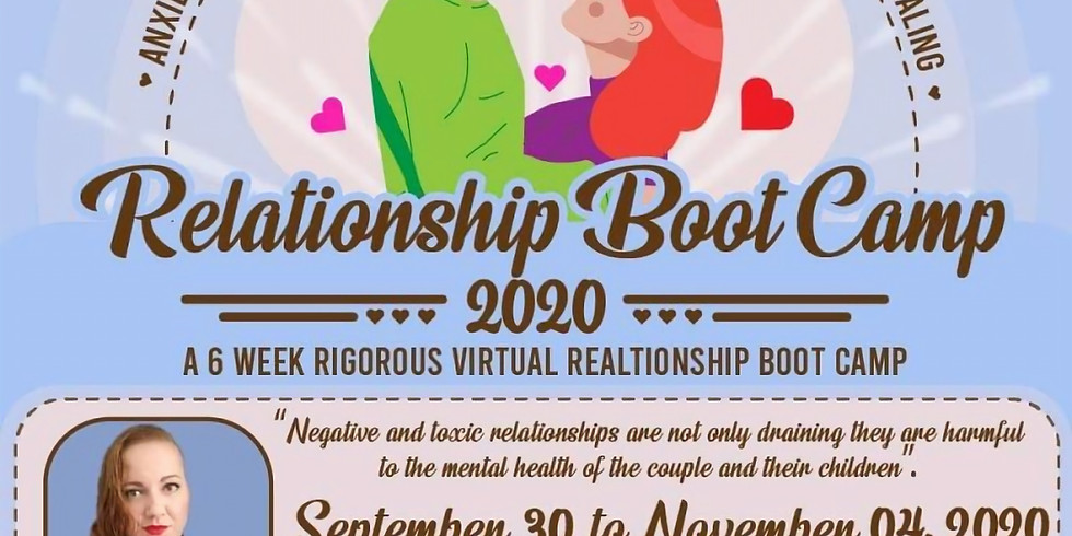 Relationship Boot Camp 2020