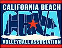 California Beach Volleyball Association logo