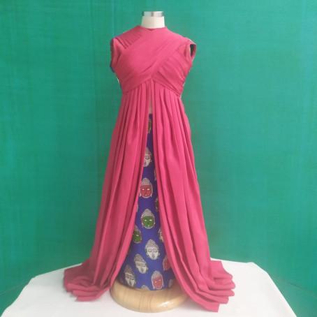 Balapreethi Portfolio Based on Kalamkari Fabrics