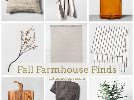 Fall Farmhouse Finds - Hearth and Hand