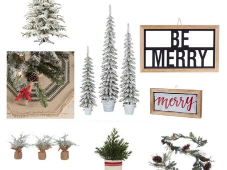 Farmhouse Christmas Decor from Walmart