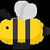 Ett tecknat bi