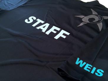 Custom STAFF T-Shirts for WEIS.