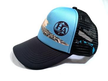 Honu Trucker Hats forHolokai Adventures.