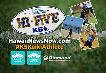 Congratulations to this week's Hi-Five Keiki Athlete of the Week: Billy Kemper.