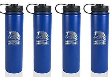 Custom Flasks for Moanalua Middle School.
