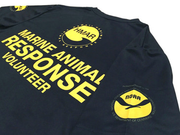 New Quick-Dry T-Shirts for Hawaii Marine Animal Response.