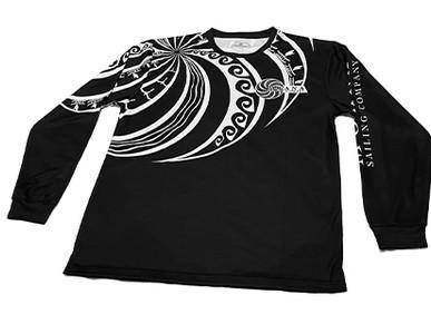 Custom Quick-Dry Long Sleeve T-Shirts for Moana Sailing Company.