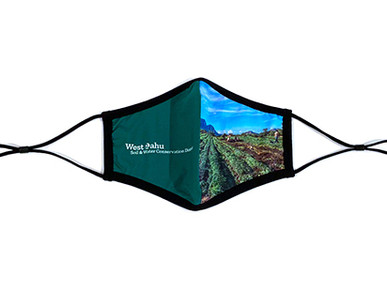 Custom Face Masks for Oahu Agriculture and Conservation Association.