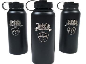 Custom Flasks forPalolo Elementary School.