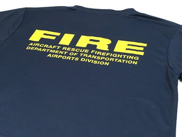State of Hawaii Airport Fire Department Quick-Dry T-Shirts.