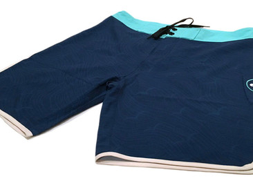 Custom 4-Way Stretch Boardshorts and Shorts for Le Jardin Academy.