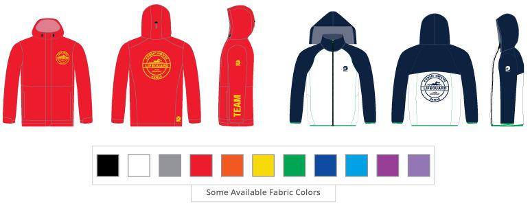 Custom Windbreakers, Custom Swim Parka, Custom Jackets